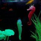 Fun Luminous Sea Horse Hippocampus Aquarium Fish Tank Decoration new FT