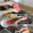 Magic Multi-function Soft Silicone Dish Washing Cleaning Brush Kitchen Gadgets