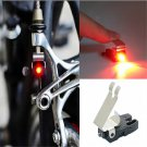 1PC Bicycle Red LED Brake light Outdoor Water resistant Cycling Hiking Safe FT