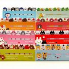 Cute Animals Flags Index Tab Sticky Notes Sticker Post-It Bookmark Marker Memo F