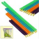 8PCS 4 Sizes Seal Stick Storage Chip Bag Fresh Food Snack Clip Grip Coffee FT