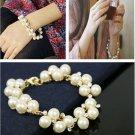 Elegant Girls Women Gift Party Beautiful Cute Fashion Sweet Pearl Bracelets FT70