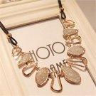 Elegant Women Chain Choker Bib Statement Charm Collar Pendant Necklace Jewelry