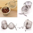 Creative Cool Tea Ball Spice Strainer Mesh Infuser Filter Stainless Steel Herbal