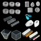 Clear Silicone Mold Making Jewelry Pendant Resin Casting Mould DIY Craft Tool FT