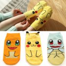 kawaii Women Kid's Anime Pokemon PikachuCharacter Socks Pocket Monsters Socks FT