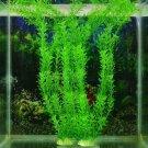 """13"""" New Green Artificial Plastic Plant Grass Fish Tank Aquarium Ornament Decor"""