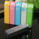 For Mobile Phone Portable Milk 2600mAh Power Bank External Battery Charger Box
