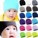 Soft Unisex Baby Cap Beanie Boy Girl Toddler Infant Children Cotton Cute Hat New