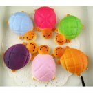 Fun Squishy Bread Scented Tortoise Phone Charms Bun Soft Straps Toys Gift FT