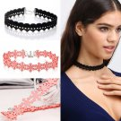Gothic Vintage Choker Collar Lace Snowflake Skeleton Chain Necklace Jewelry Gift