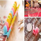 Fun Lovely Lots 5pcs Snail Shape Silicone Tea Bag Holder Cup Mug Candy Colors