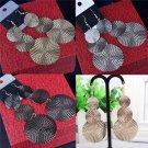 1 Pair Retro Women Lady Elegant Long Drop Ear Dangle Earrings Jewelry Gift FT05