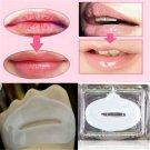 10PCS Lot White Crystal Collagen Lip Mask Patch Anti Ageing Wrinkle Moisturising