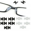 5 Pairs Cool Eyeglass Sunglass Glasses Spectacles Anti-Slip Stick On Nose Pad FT