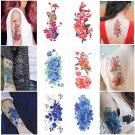 Women Fashion 3D Flower Waterproof Temporary Tattoo Stickers Beauty Body Art NEW
