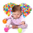 ONE 5.5cm colorful ball Soft Plastic ocean ball funny baby kid Swim Pit Toy FT