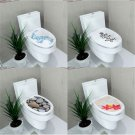 New DIY Toilet Seats Wall Stickers Bathroom Decor Decal Vinyl Mural Home Decor