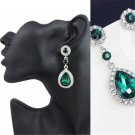 Charm Women Crystal Vintage Drop Dangle Rhinestone Ear Stud Earrings Jewelry New