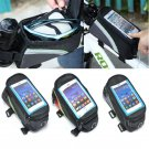 Creative Waterproof Bicycle Bike Frame Front Tube Cellphone Mobile Phone Bag FT6