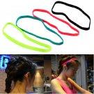 Cool Elastic Women Men Sports Football Non-slip Yoga Headscarf Hairband Headband