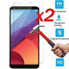 9H Clear Premium Tempered Glass Screen Protector Film Guard For LG G6 2Pcs/SET