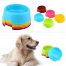 Fashion Pet Dog Cat Puppy Exquisite Plastic Food Feeding Water Dish Bowl Feeder