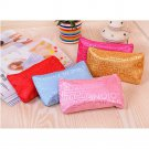 Fashion Portable Cosmetic Bag Letters Bags Beauty Zipper Travel Make Up Case NEW