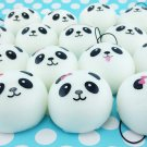 1X Fun Cute 4cm Panda Squishy Kawaii Buns Bread Charms Key/Bag/Cell Phone Straps