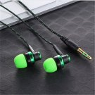 3.5mm Modish In-Ear Stereo Headphone Earbuds Earphone Headset For iPhone Samsung