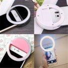 For iPhone Android Phone Selfie Portable LED Ring Fill Light Camera Photography