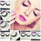 Sexy Real Mink Natural Thick False Eyelashes Fake Eye Lashes Makeup Extension FT