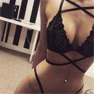 Lace Women's Babydoll Bikini Set Lingerie Underwear Sleepwear Nightwear G-string
