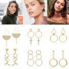 Charm Fashion Women Pendant Long Tassel Drop Dangle Earrings Party Jewelry 1Pair
