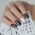 Charm 3D Nail Art Stickers Tattoos Lace Necklace Manicure Decals Decor Tips FT
