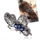 Vintage Women Butterfly Crystal Hair Clip Hairpin Barrette Accessories Xmas Gift