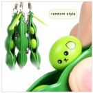 Cute Squeeze Bean Anti-Anxiety Fidget Stress Relief For ADHD keyring Pendant Toy