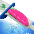 Household 2Pcs ABS Squeeze Tube Dispenser Squeezer Easy Press Toothpaste