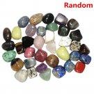 Cute Natural Crystal Tumblestones Tumbled Stone Chakra Gemstone Xmas Gift 2PCS