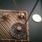 9 Holes Exquisite Lotus Shape Incense Burner Holder Censer Plate For Stick Cone