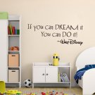 Inspiring Quotes Wall Sticker Decal Art Mural Home Room Decor Wall Stickers FT