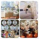 5X/set 12'' Colorful Confetti Latex Balloon Wedding Birthday Party Decor Helium
