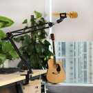 Fashion Mic Arm Stand Microphone Suspension Boom Scissor Holder For Broadcast