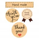 """Thank You""Wedding Favor Gift Label Envelope Seals Paper Stickers 60-120pcs FT"