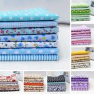 For DIY Crafts Sewing 25*25cm Assorted Pattern Floral Cotton Fabric Cloth FT