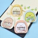 50PCS DIY Japanese Sumikko Gurashi Sticker Flakes Bag Sack Anlimals Scrapbooking