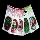 Halloween Hand Toilet Cover Bloody Party Decoration Sticker Prop Scary Zombie FT
