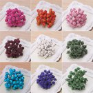 Christmas Foam Frosted Fruit Artificial Holly Berry Flower Home Decor 1 bunch FT
