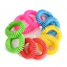 Anti Mosquito Insect Repellent Wrist Hair Band Bracelet Camping Outdoor 10PCS FT