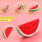 Cute Slow Rising Squishy Watermelon Fruit Scented Bread Squeeze Toy Decor FT